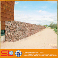 Welded Mesh Stone Cage Gabions