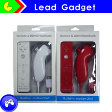 wireless nunchuk for nintendo remote controller built-in motion plus for wii