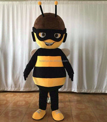 Customized mascot costume/bee mascot costume/cheap mascot costumes