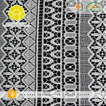 B25430 Customize Widely Used Indian Embroidery Guipure Lace Trim Fabrics