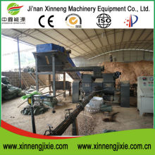 Hot sale Xinneng sawdust bricket making machine