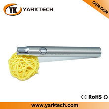 Yarktech 510 battery custom logo, vape pen battery thread with usb charger for the cbd oil glass cartridge