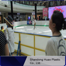 Hot selling UHMWPE Ice Skating Rink Equipment / ice skating material / synthetic ice hockey field