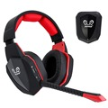 Hot sell big earmuff 7. 1 sound 2.4Ghz wireless gaming headphone wireless gaming stereo headset for PS4 PS3 Xbox one Xbox 360 PC