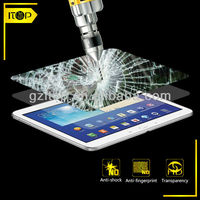 Ultra thin anti-fingerprint lcd tv screen protector film for Samsung Tab 4