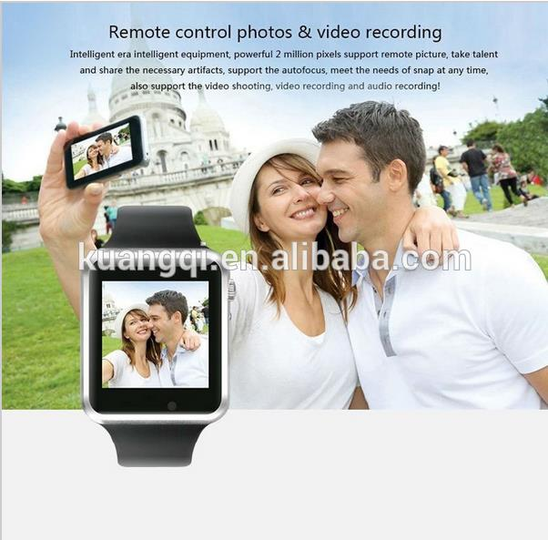 Hot selling new watch phone 2014 bluetooth mp3 watch watch camera