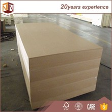 raw mdf plain mdf 1220*2440mm laminate mdf