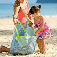 Mesh Beach Tote Bag - Good for the Beach Family Children Play(swim, Toys, Boating. Etc.) - X-large