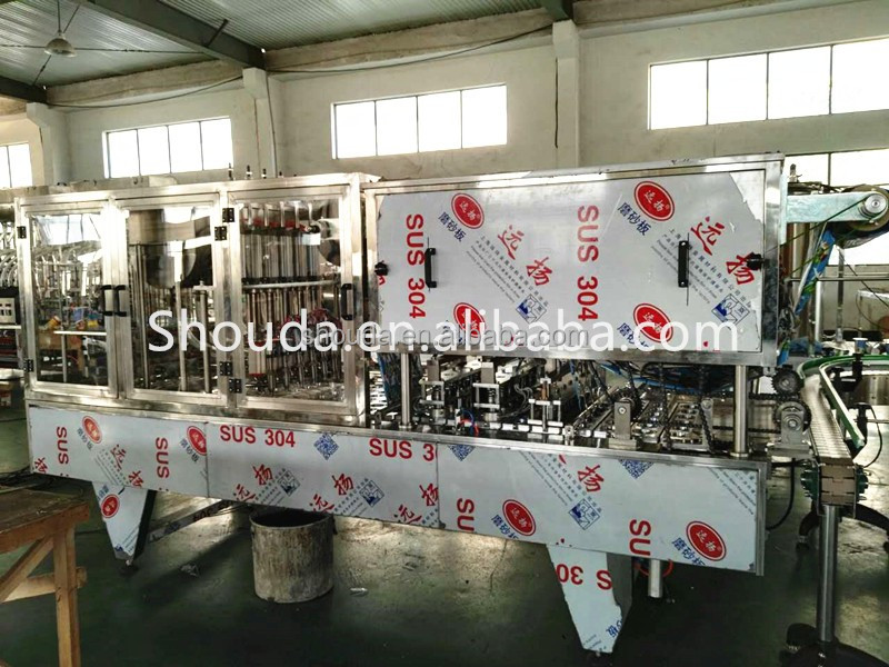 Beverage Application Cup Type milk tea cup Packaging Equipment