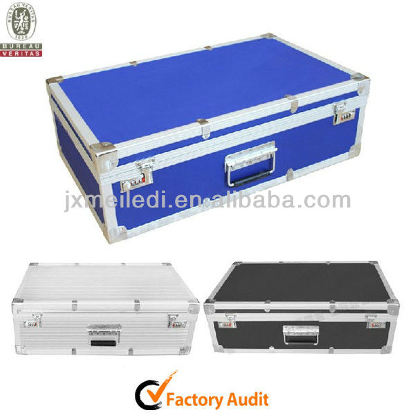 top quality colorful durable aluminum keyboard flight case carrying box