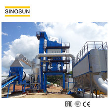 Road Machinery 80t/h China Mini Stationary Hot Drum Asphalt Batch Mixing Plant For Sale