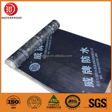 SBS Modified Bitumen weldable Waterproof Membrane Suit all kinds of building roof