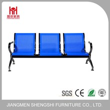 High quality low price blue airport waiting seating