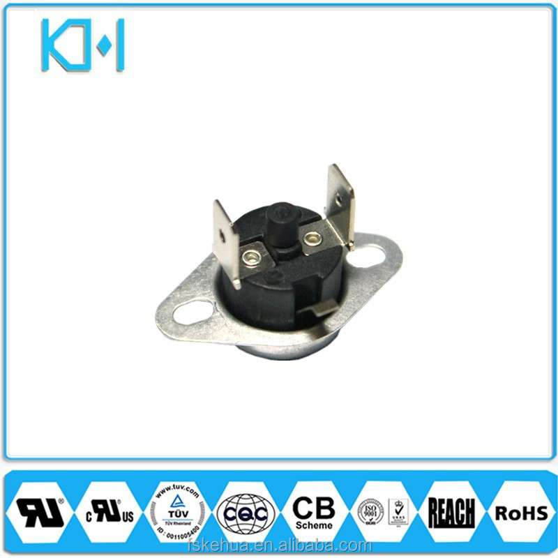 Manual Bimetal Thermostat UL Switch Resettable