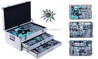 199pcs cordless tool set electric screwdriver powers tools kit garage tools boxes