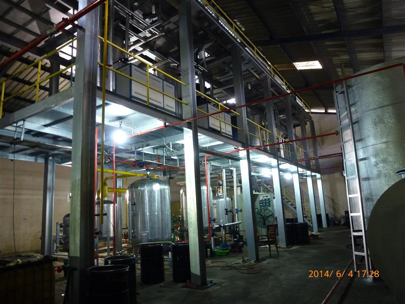 Vacuum distillation used car oil recycle plant Complete sets of supply