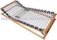 Manual slatted bed