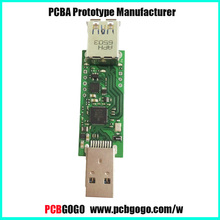 PCBGOGO USB PCBA Assembly service/ Printed Circuit Board /PCB