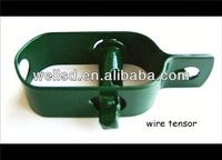 fastener coated wire fencing strainer