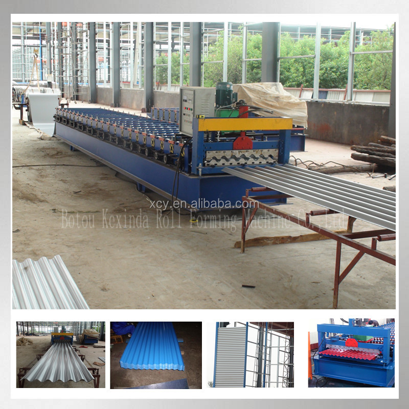Zinc Roofing Corrugated Sheet Forming Machine/Line For Production Of Profiled Sheet Metal