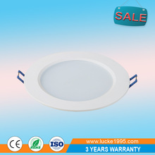 Wholesale 12W ultra slim SMD lathe aluminum LED ceiling panel light