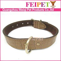 Super durable leather collars for pitbull