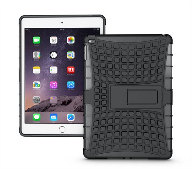 Newest armor case for ipad air 2 case,for ipad air 2 cover