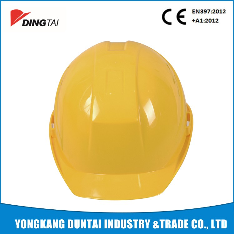 CE HDPE tough industrial construction safety helmet chin strip japanese construction safety helmetDT-T030