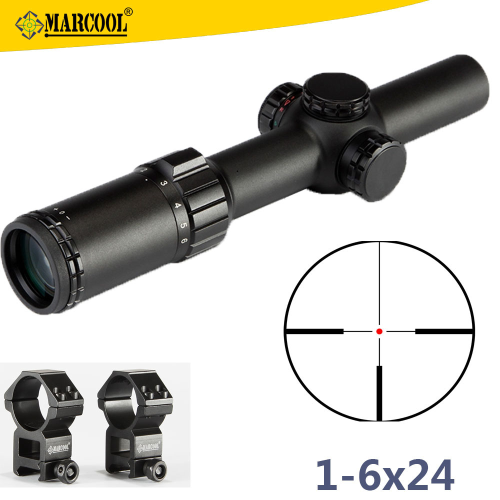 S.A.<strong>R</strong> 7.62x39mm Weapons Guns Marcool 1-6x24 IRG Military Surplus Hunting Rifle Scopes