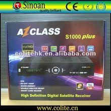 Azclass S1000 HD Digital Satellite Receiver,Azclass S1000 Plus,IKS Free Account to Watch Nagra 3 HD Channels,