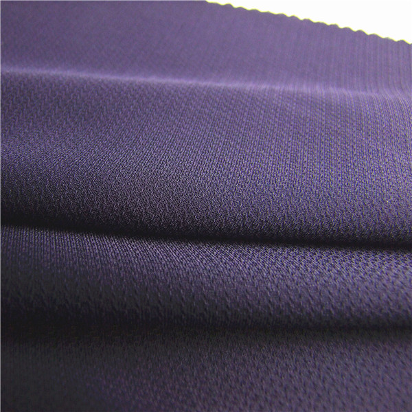recycle azo-free breathable polyester jacquard fabric for clothing