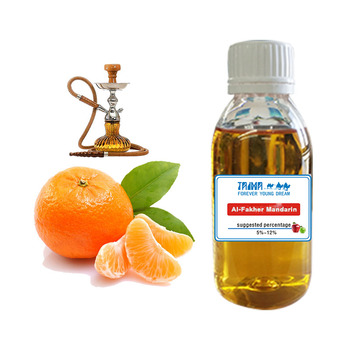 Hot Selling Shisha Concentrate Al-Fakher Mandarin Flavor Liquid Used For Hookah