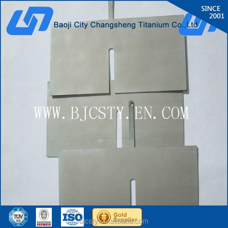 good quality iridium-tantalum coating titanium electrode for water ionizer best sell in Korean