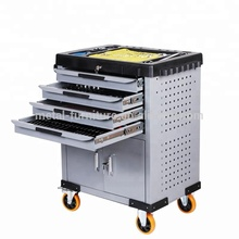 Cheap US Europe Work bench/Steel Tool Cart/Metal Tool Trolley Cabinet