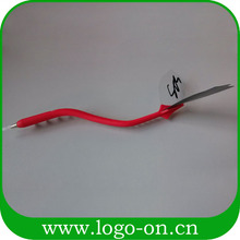 3d soft pvc bendable ball pen