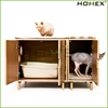 Pure modern cat furniture litter box/modern pet furniture/cat cube/HOMEX