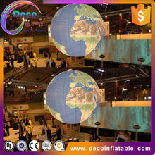 Inflatable sphere balloon with planet for promotion