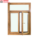 Latest double glass aluminum clad wood window designs