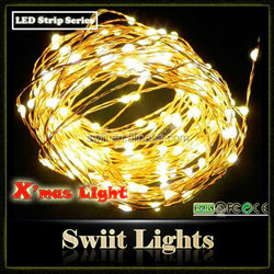 2015 New Design 2M 20LEDs/M 4.5V LED Battery Pack for Christmas Light