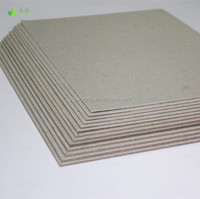Waste Paper Making Recycle Grey Carton Board/Raw Paper Material Grey Back Paper
