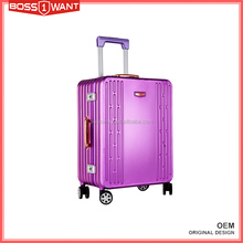 Hot Sale Chinese Factory Trolley Luggage Aluminum Travel Suitcase