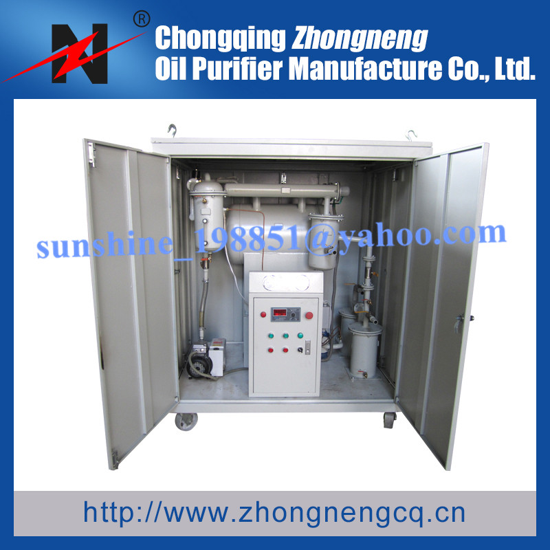 Water and Dust Proof Insulating Oil Disposal System, Insulating Oil Degassing Solution, Insulating Oil Dehydration System