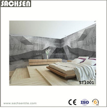 Decoration tempered glass coating 3D floor tiles ST1001