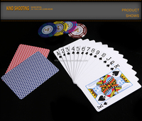 100% plastic waterproof playing cards