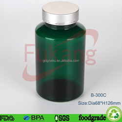 10oz pet round plastic bottles, plastic chemical containers food grade, empty pharmaceutic bottle wholesale