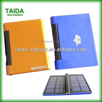NEW Best design best seller 5000mah portable solar mobile charger