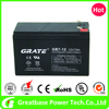 greatbase Grate 12V 7Ah Alarm System UPS Battery with UL CE Approve for Security System