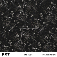 BST 0.5m 2017 new skull film Hydrographic Film water transfer printing