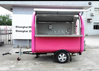 2016 trending products china made bathroom storage rack , food trailer mobile food cart stall, thailand ice cream kiosk