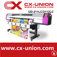 2015best banner flex flatbed printing machine with dx5 print head UD-2112LC